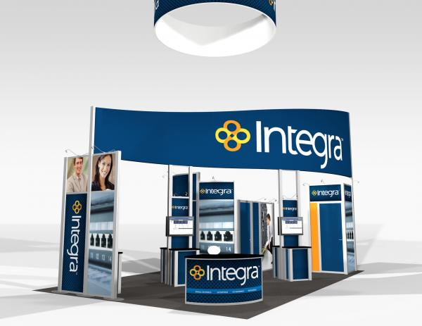 RE-9030 Trade Show Rental Exhibit -- Image 1