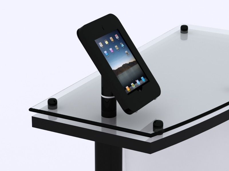 MOD-1329 Rotating iPad Counter Mount (Black)