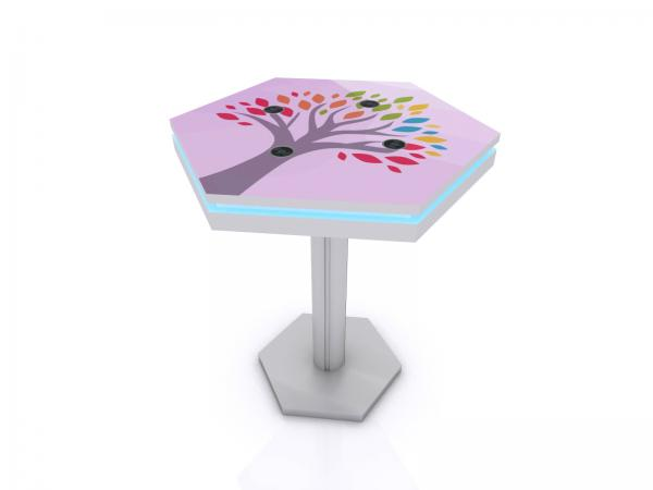 MOD-1465 Wireless Trade Show and Event Charging Bistro Table -- Image 1