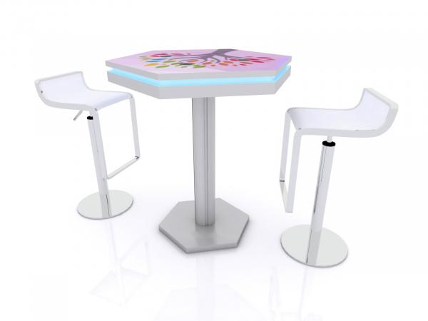 MOD-1465 Wireless Trade Show and Event Charging Bistro Table -- Image 4