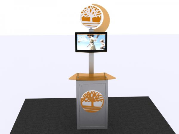 MOD-1330 Trade Show Workstation/Kiosk -- Image 1