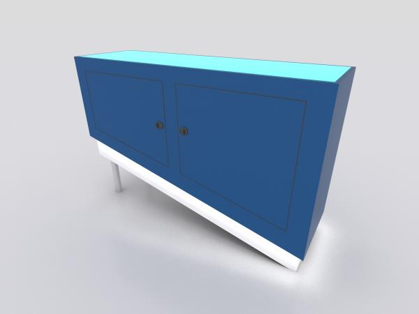 MOD-1588 Custom Trade Show Reception Counter -- Image 5