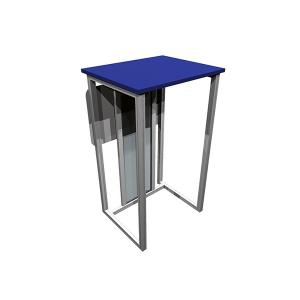ECO-26C Sustainable Trade Show Pedestal - View 2