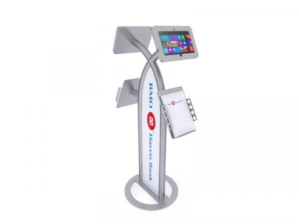 MOD-1355M Portable Surface 2 Kiosk -- Silver