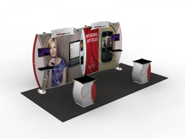 VK-2904 Trade Show Display -- 10 x 20