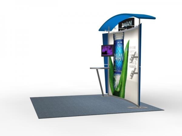 VK-1302 Trade Show Exhibit with Silicone Edge Graphics (SEG) -- Image 3