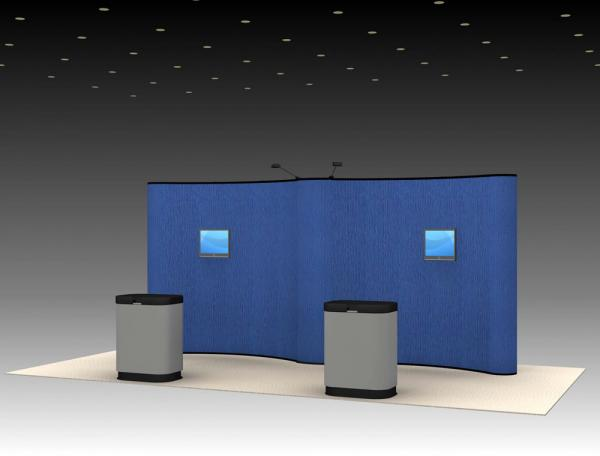 QD-203 Trade Show Pop-up Exhibit
