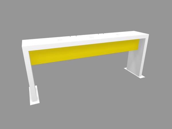 RE-1583 Trade Show Genius Bar C -- Yellow