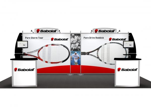 RE-2027 / Babolat Rental Display -- Image 2