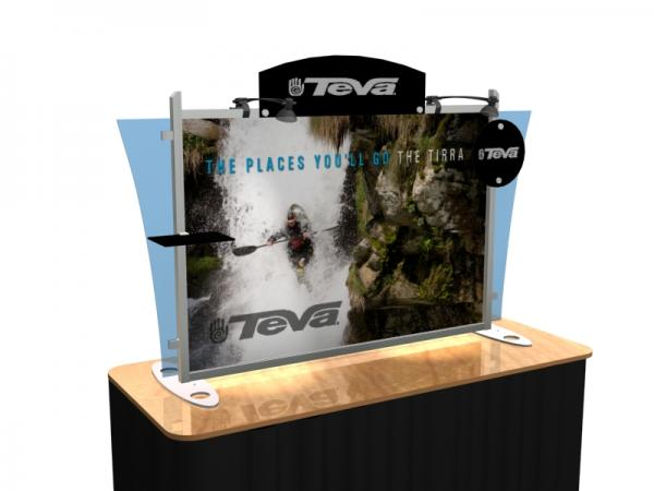VK-1291 Portable Hybrid Trade Show Table Top Exhibit -- Image 1